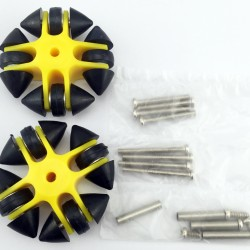 Omni wheel 003CR(one pack with 4pcs) ROHS