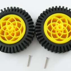 80mm Wheel 1 pair (match with all DG01D and DG02S serial) ROHS
