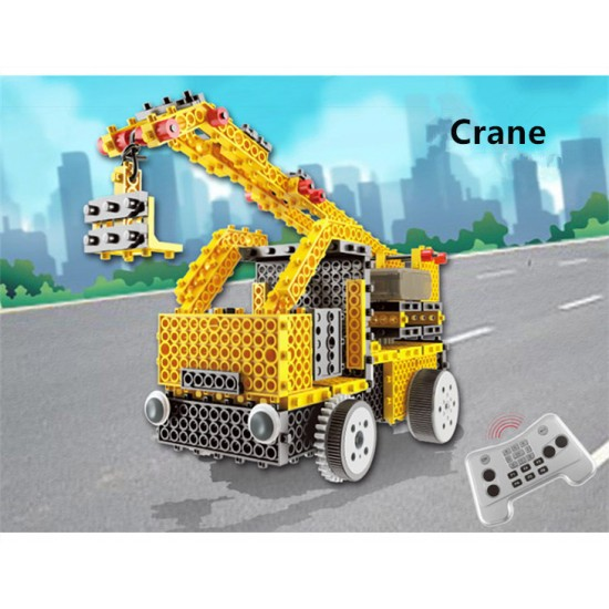 4-in-1 remote control robot engineering series ROHS