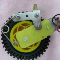 Dagu robot Robot shock absorber tt motor fitted rack independent , shock absorber gear box robot acessorios ROHS