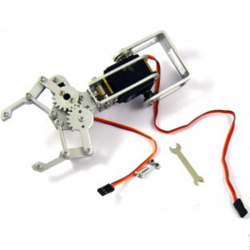 2 servos arm -21CM 2DOF robotic arm belt gipper ROHS