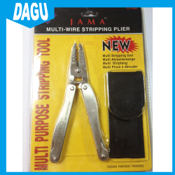 Multi-wire stripping slot plier ROHS