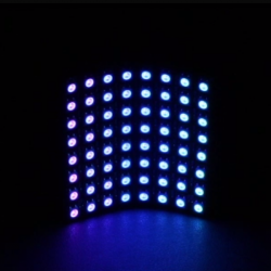 Flexible 8x8 RGB LED Matrix