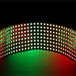 Flexible 8x32 RGB LED Matrix