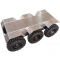 6WD suspension shock absorption robot chassis with waterproof IP55 ROHS