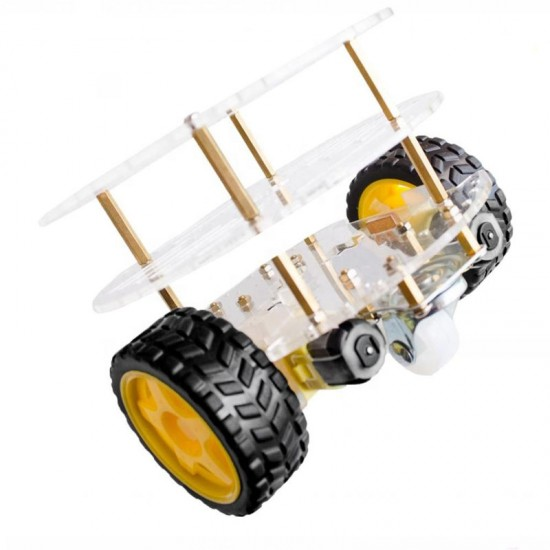 Stem Education Three Layers Smart Robot Car Chassis