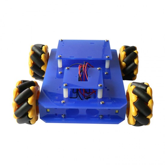 Dagu New Double Chassis Mecanum Wheel Robot Car Chassis Kit