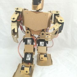 17 degrees of freedom dancing robot full set of humanoid robot ROHS