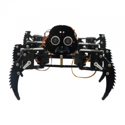 Six leg spider robot (without battery and PS2 controller)