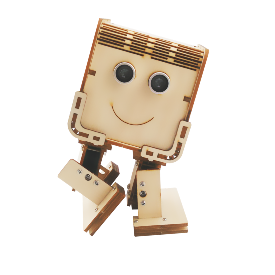 DAGU Techie Robot Wooden Little Box Robot  ROHS