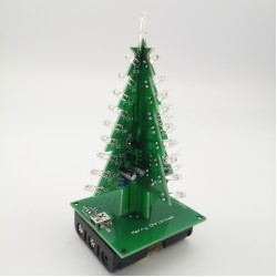 Driedimensionale 3D Christams Boom DIY Elektronische Boom LED DIY Kit Rood/Gree/Yelow Flash Circuit lassen praktijk Maker ruimte ROHS